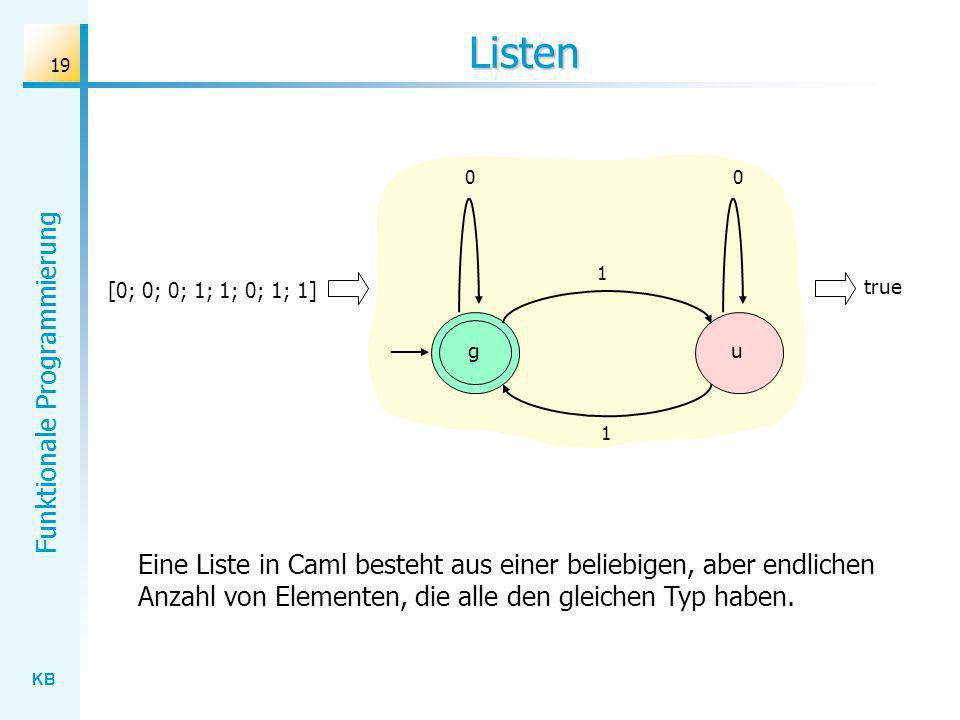 Listen 1. [0; 0; 0; 1; 1; 0; 1; 1] true. g. u. 1.